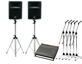 レンタル機材 音響Aセット