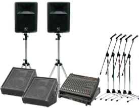 レンタル機材 音響Bセット