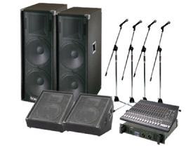 レンタル機材 音響Cセット